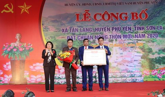 Tân Lang về đích nông thôn mới