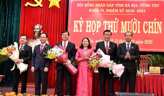 Giám đốc Sở KH&ĐT được bầu giữ chức Phó Chủ tịch UBND tỉnh Bà Rịa - Vũng Tàu