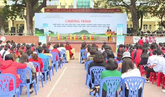 Sở TN&MT Quảng Ninh: Tổ chức chương trình phổ biến tác hại của rác thải nhựa