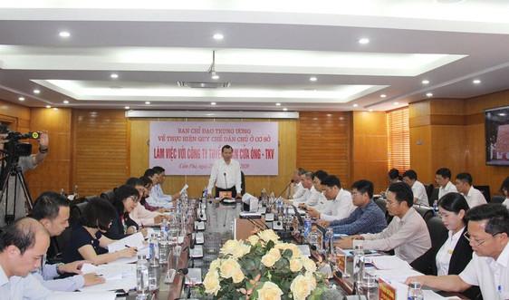 Tập đoàn TKV: 100% đơn vị trực thuộc đều thành lập Ban Chỉ đạo Quy chế dân chủ