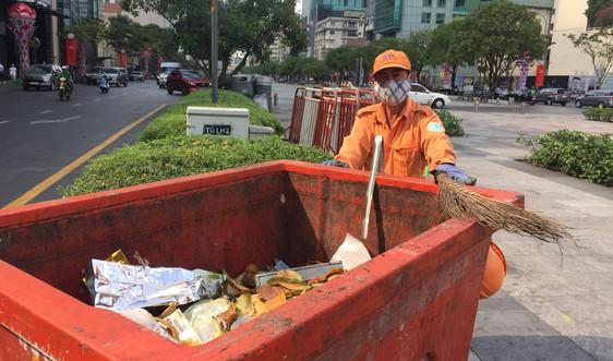 TP.HCM: Đảm bảo vệ sinh môi trường dịp Tết Nguyên đán Tân Sửu
