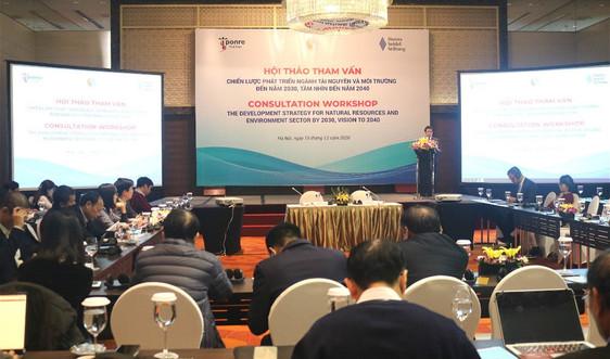 Hội thảo tham vấn Dự thảo Chiến lược phát triển ngành TN&MT đến năm 2030