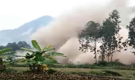 Thanh Hóa: Tạm dừng khai thác mỏ đá của Công ty Thanh Hưng