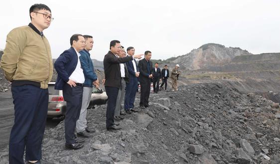 Quảng Ninh: Sử dụng đất đá thải từ các mỏ than làm vật liệu san lấp