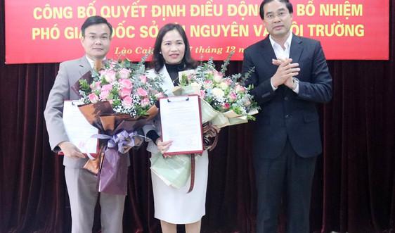Lào Cai: Có 2 tân Phó Giám đốc Sở Tài nguyên và Môi trường