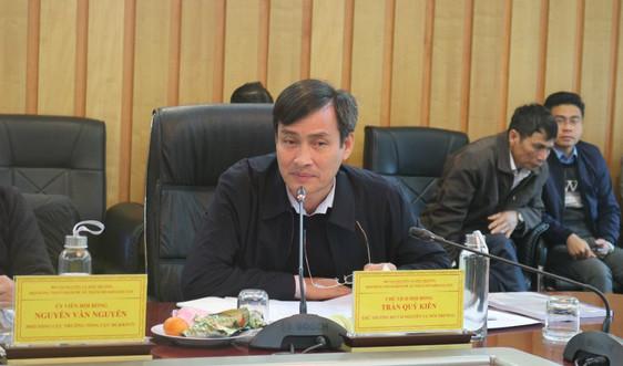 Thẩm định các đề án thăm dò khu mỏ than tại Quảng Ninh