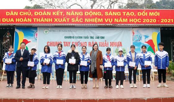 Lào Cai: Lan tỏa phong trào chống rác thải nhựa tới lớp trẻ
