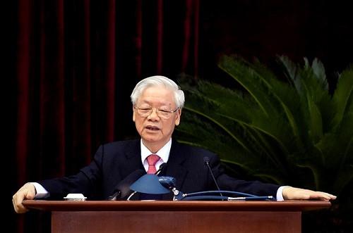Phát biểu của Tổng Bí thư, Chủ tịch nước bế mạc Hội nghị lần thứ 14 BCH TƯ Đảng khóa XII