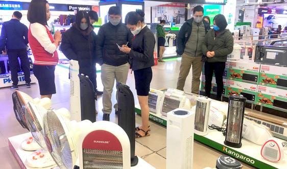 Sôi động thị trường thiết bị sưởi ấm