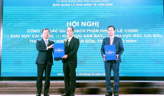 Quảng Ninh: Công bố Quy hoạch 3 phân khu quan trọng thuộc Khu Kinh tế Vân Đồn
