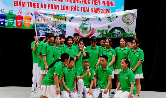 Hà Nội: Trường học tại quận Hoàn Kiếm tiên phong giảm thiểu và phân loại rác
