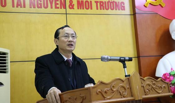 """Sở TN&MT tỉnh Hà Tĩnh: """"Vượt qua khó khăn, thách thức, hoàn thành tốt nhiệm vụ năm 2020"""""""