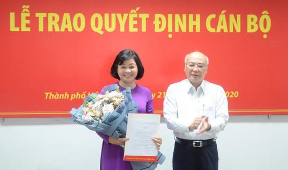 Bà Lý Việt Trung làm Tổng biên tập Báo Phụ Nữ TPHCM