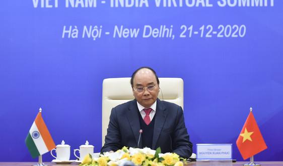Việt Nam, Ấn Độ phấn đấu đạt sớm kim ngạch thương mại 15 tỷ USD