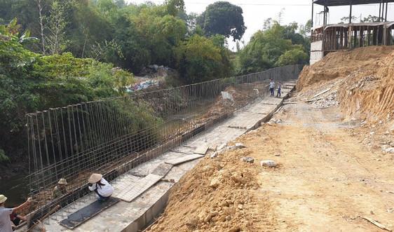 Thái Nguyên: Dòng suối xã Xuân Phương, huyện Phú Bình có dấu hiệu bị lấn chiếm