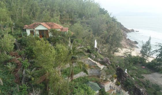 Bình Định: Xử phạt vi phạm hành chính công trình xây không phép trên núi Xuân Vân