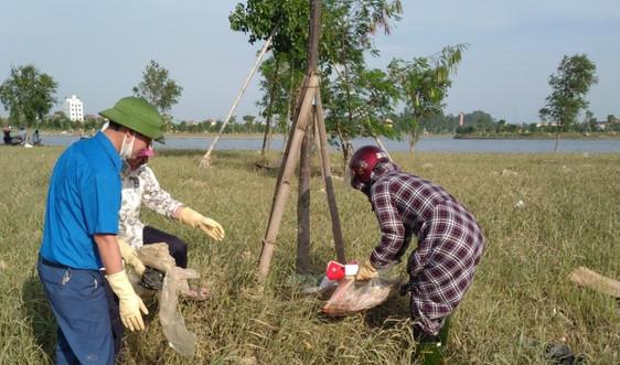 Huyện Thạch Hà (Hà Tĩnh): Nỗ lực giữ chuẩn, nâng cao chất lượng tiêu chí môi trường sau lũ
