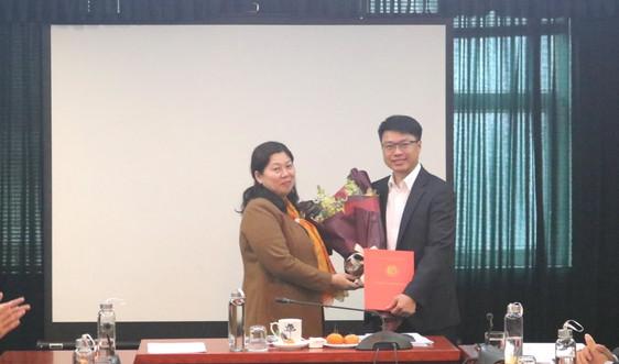 Ông Lê Xuân Tùng giữ chức Phó Vụ trưởng Vụ Thi đua, Khen thưởng và Tuyên truyền