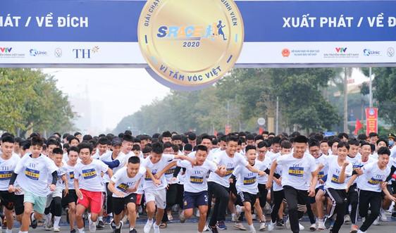 Hơn 3.500 học sinh, sinh viên tham gia giải chạy S-Race 2020