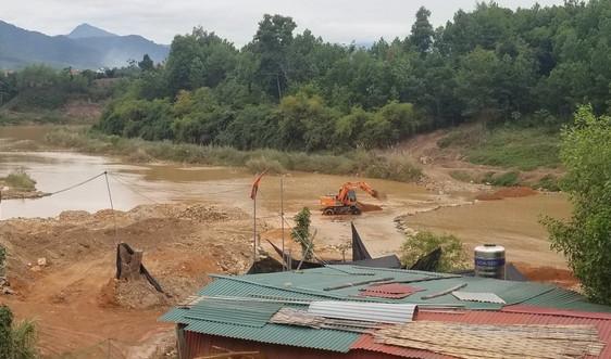Bắc Giang: Sông Cẩm Đàn bị ô nhiễm nghiêm trọng vì khai thác khoáng sản