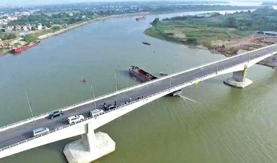 Cầu Tân Phong - Nam Định hoàn thành và đưa vào khai thác