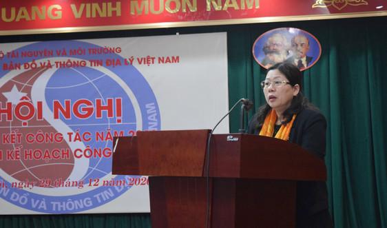 Cục Đo đạc, Bản đồ và Thông tin địa lý Việt Nam: Năm 2021, tập trung xây dựng, hoàn thiện các văn bản luật