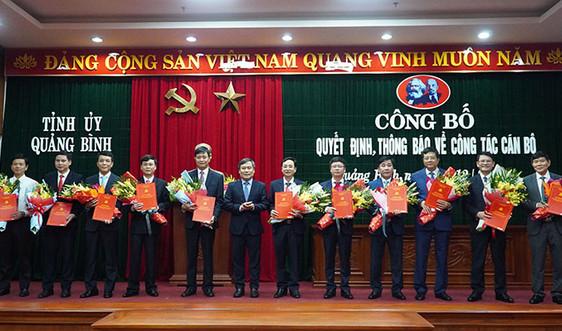 Quảng Bình: Bổ nhiệm tân Giám đốc Sở Tài nguyên và Môi trường