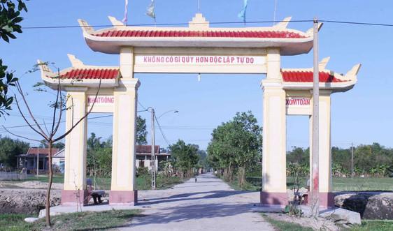 Thừa Thiên Huế: Đẩy mạnh xây dựng nông thôn mới