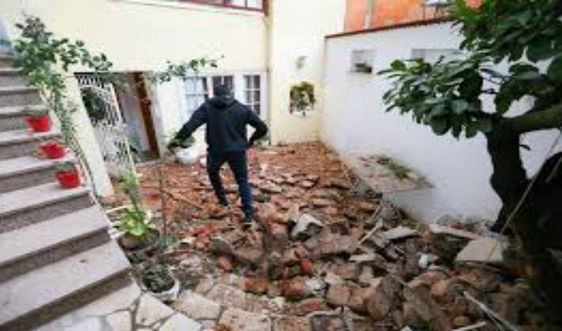 Croatia xảy ra 4 trận động đất liên tiếp