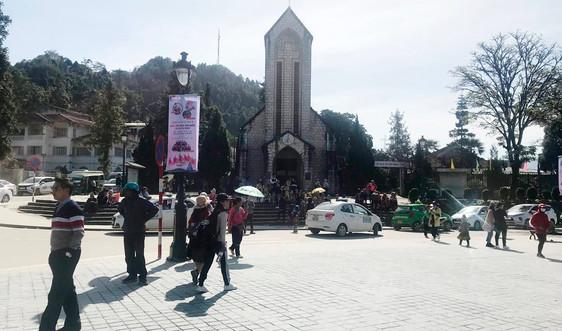 Khu du lịch quốc gia Sa Pa hút du khách trong dịp Tết Dương lịch 2021