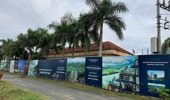Kiểm tra việc chuyển nhượng Giấy phép thăm dò nước khoáng tại dự án Wyndham Thanh Thủy