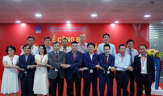 PV GAS công bố quyết định bổ nhiệm cán bộ