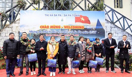 Sa Pa – Lào Cai: Đón 65.000 du khách trong kỳ nghỉ Tết Dương lịch 2021