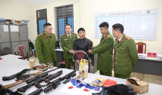 Sơn La: Bắt giữ đối tượng tàng trữ trái phép ma túy và vũ khí quân dụng