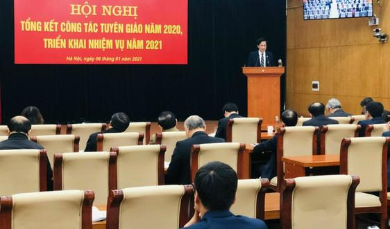 Đảng ủy Khối các cơ quan Trung ương triển khai nhiệm vụ công tác tuyên giáo năm 2021