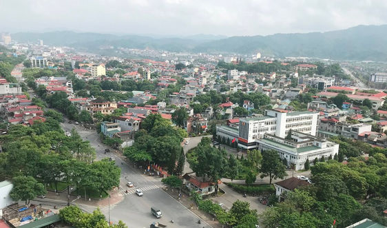 Thành phố Lào Cai phát triển cây xanh bảo vệ môi trường