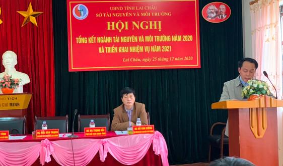Sở TN&MT Lai Châu triển khai nhiều nhiệm vụ trọng tâm năm 2021