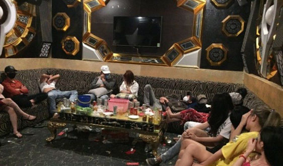 Quảng Nam: Phát hiện 47 nam, nữ phê ma túy trong quán karaoke Diamond