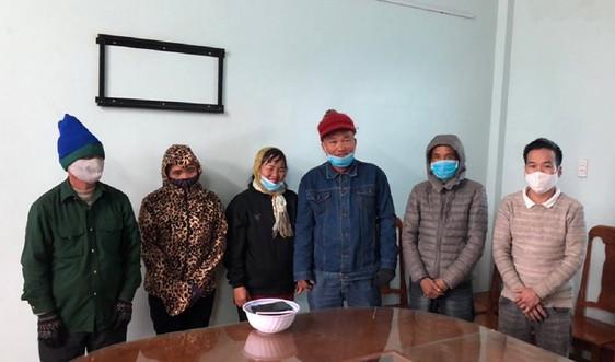 Quảng Trị: Phát hiện 6 người nhập cảnh trái phép