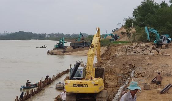 Sai phạm trong xây dựng bến thủy nội địa, hộ kinh doanh Trương Đức Long bị dừng thi công
