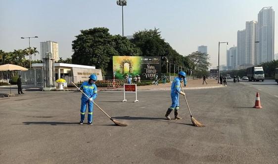 Nam Từ Liêm, Hà Nội: Làm sạch môi trường chào mừng Đại hội Đảng toàn quốc lần XIII