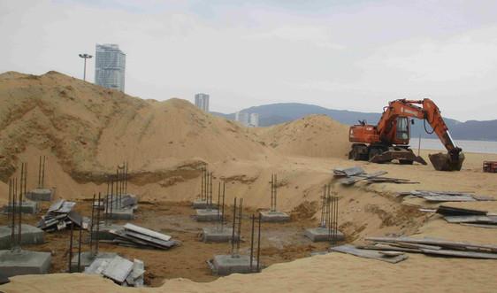 """Bình Định: Dự án SeaSand thi công chưa có giấy phép xây dựng bị """"tuýt còi"""""""