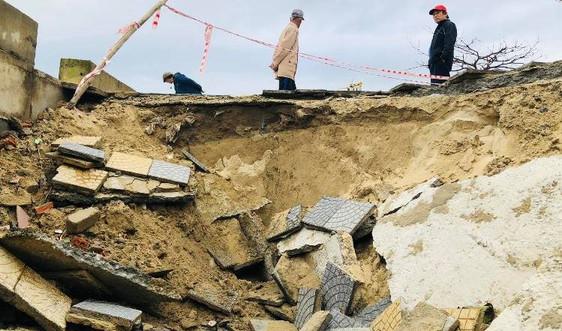 Bờ biển Đà Nẵng bị xói lở nhưng vẫn tương đối ổn định