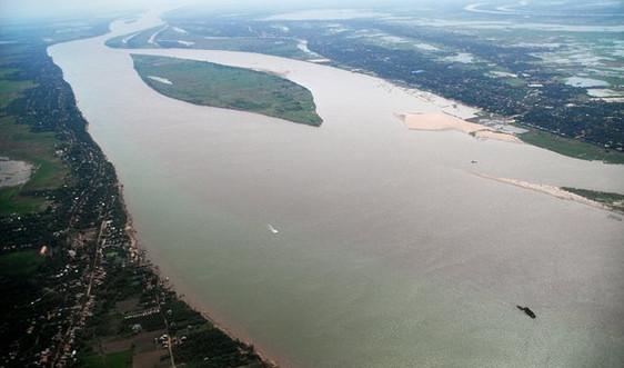 Dự báo kịp thời diễn biến dòng chảy trên sông Mê Công