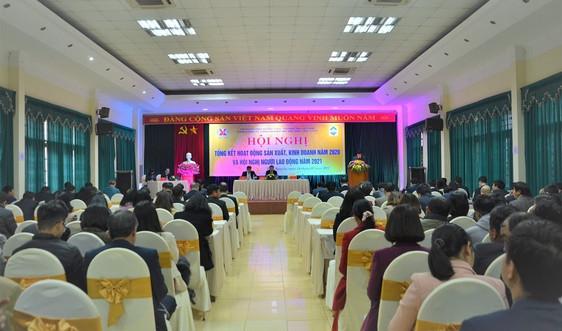 Năm 2020, Tổng Công ty Công nghiệp mỏ Việt Bắc  đạt doanh thu trên 5 nghìn tỷ đồng