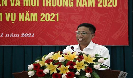Sở TN&MT TP. Cần Thơ: Tập trung thực hiện hoàn thành các nhiệm vụ, chỉ tiêu năm 2021