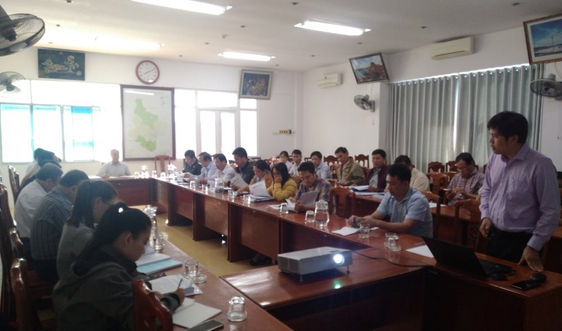 Xây dựng các nhiệm vụ biến đổi khí hậu trên địa bàn tỉnh Ninh Thuận