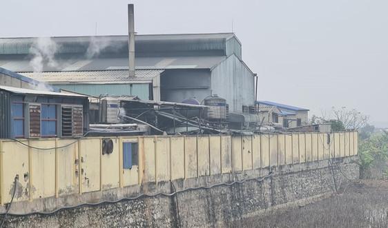 """Vụ dân """"tố"""" nhiều cơ sở tẩy nhuộm xả thải gây ô nhiễm sông Hồng: Hoạt động nhiều năm không có ĐTM"""