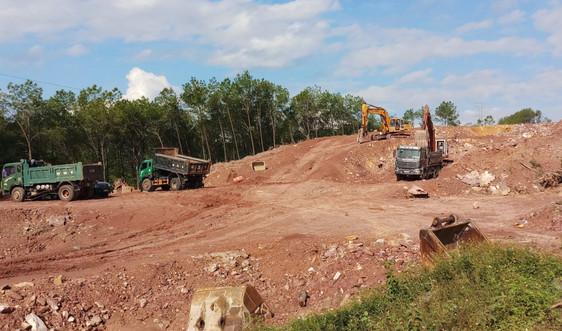 Thừa Thiên Huế: Cấp phép 2 mỏ đất phục vụ các dự án lớn