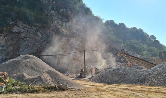 Cao Bằng: Cần nâng cao biện pháp đảm bảo an toàn tại các mỏ khai thác đá